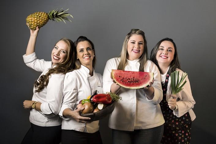 Cynthia Amorim, Arlete Nunes, Virna Branda¦âo e Paty Pinho