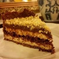 Torta de Chocolate com Nozes