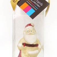Papai Noel de chocolate branco