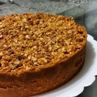Torta de Crocante de Amendoim