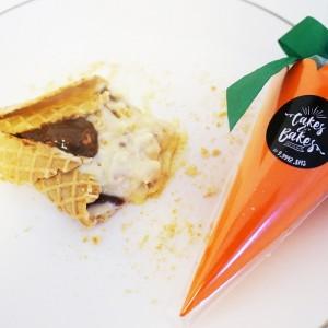 Cakes and Bakes – cone de cenoura