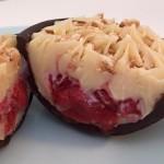 ovo de colher – cheesecake de frutas vermelhas