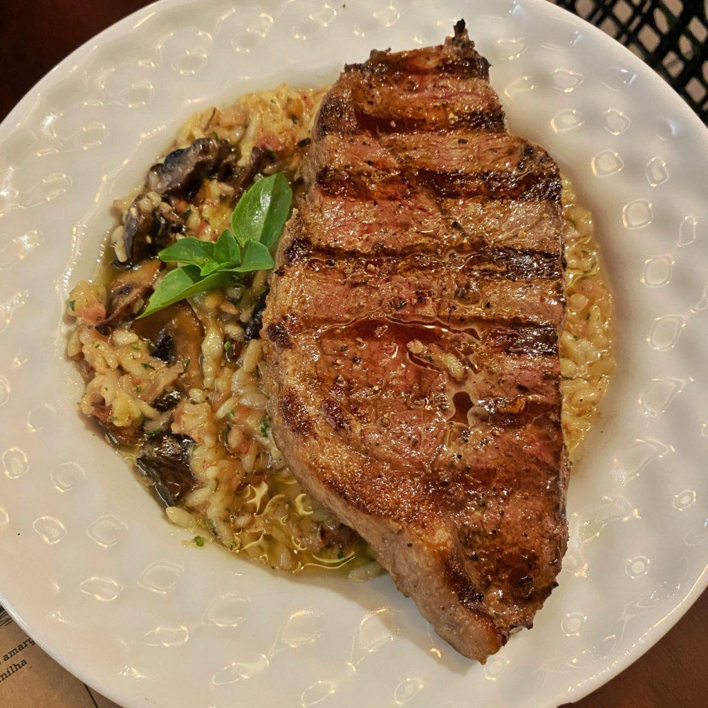 urbanos burgers e carnes - carne e risoto