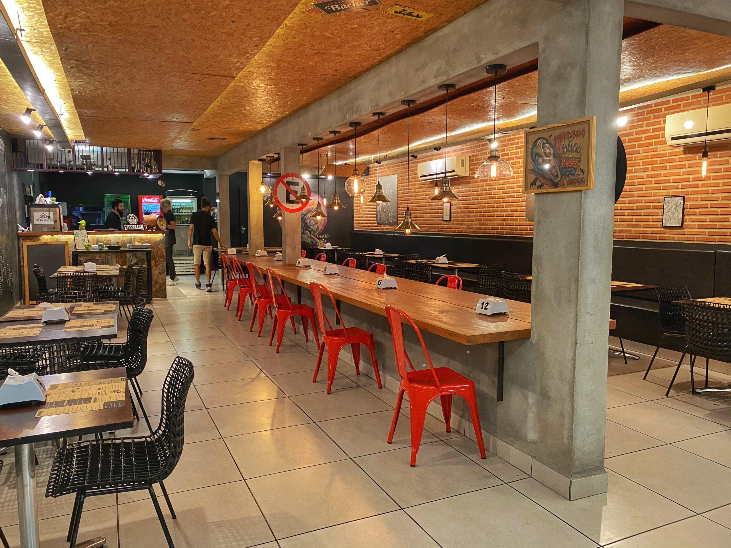 urbanos burgers e carnes – local
