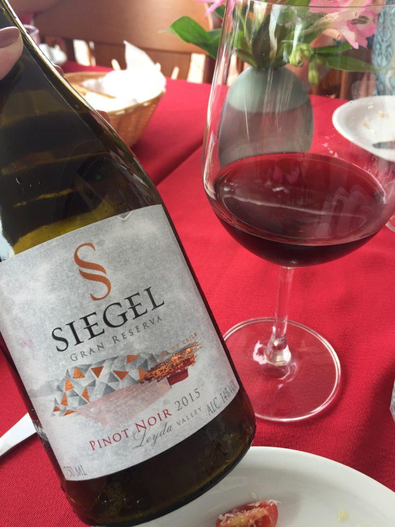 Siegel Gran Reserva de 2015, Chileno. Vende na Canto do Vinho!