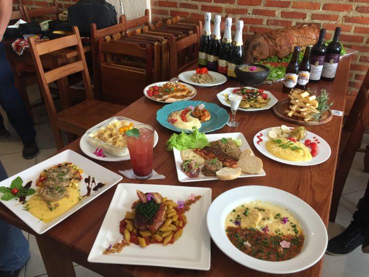 Santa Teresa Gourmet - Os pratos!