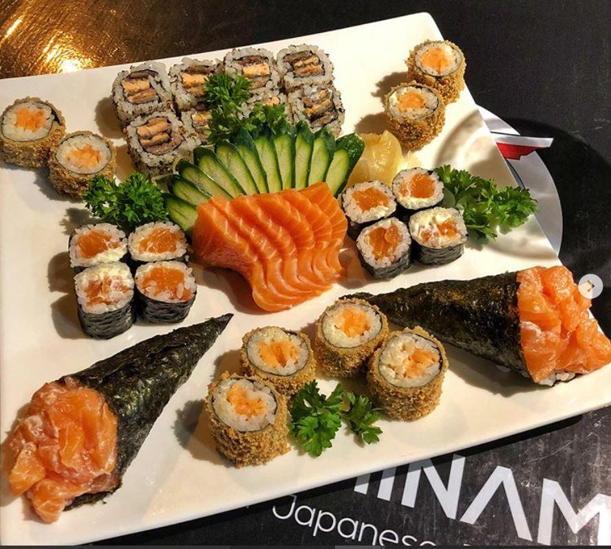sushi minami _ combinado