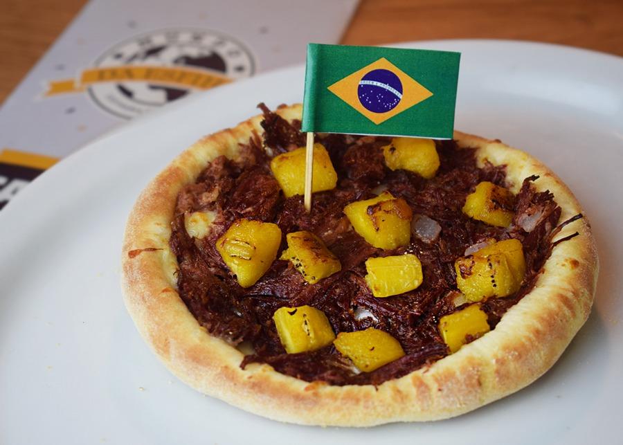 Brasil: carne seca com banana.