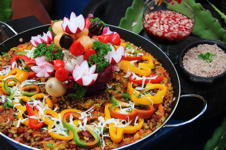Paella do Sertão - manguinhos gourmet