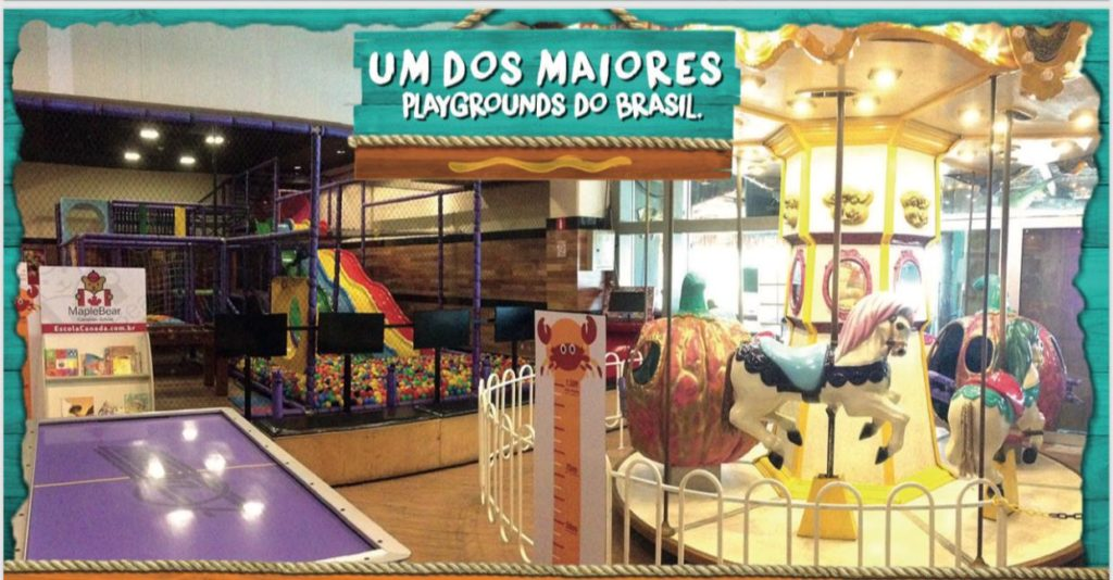 restaurantes com área kids - ilha do caranguejo