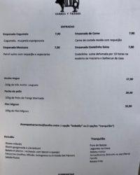 cardápio alcides carnes y tragos – almoço executivo
