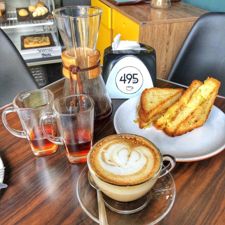 melhores cafeterias - café 495