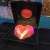 coração de chocolate ruby cbr
