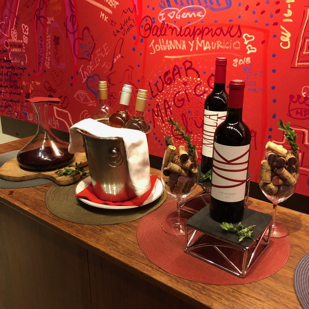 viña vik wine – vinhos do jantar