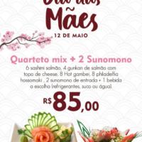 sushi minami – dia das mães