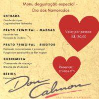 dia dos namorados – don calmon