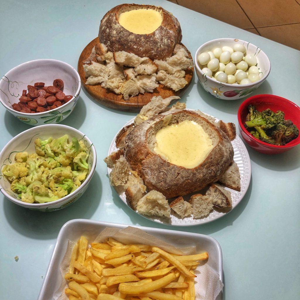 fondue salgado