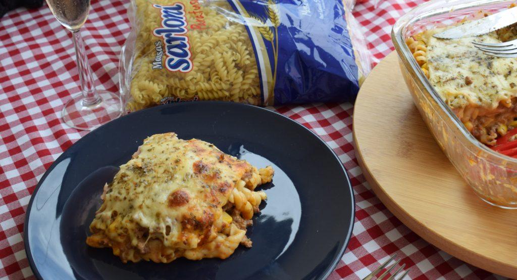 lasanha de macarrão - villoni alimentos