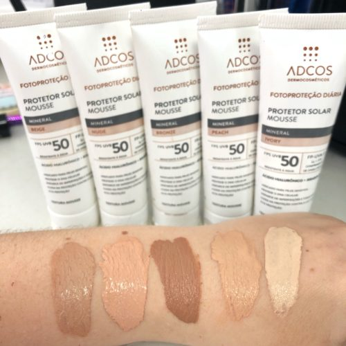 protetor solar mousse mineral - ADCOS 2