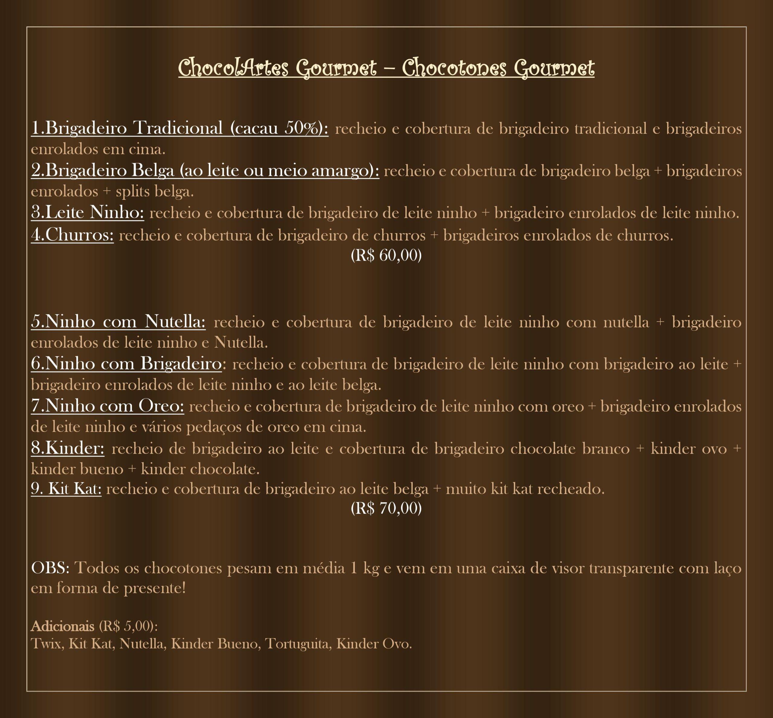 chocolartes gourmet 1