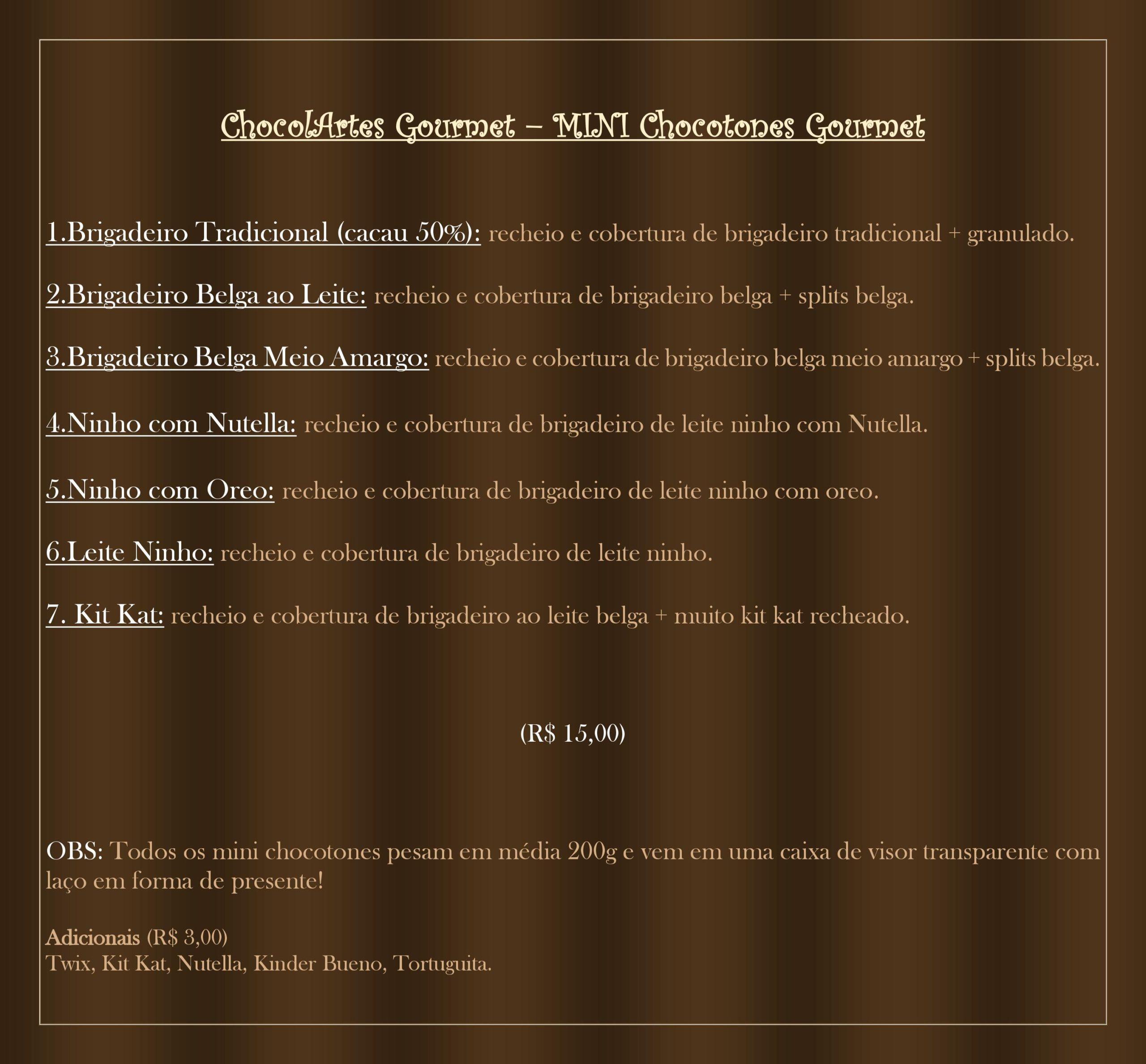 chocolartes gourmet 2
