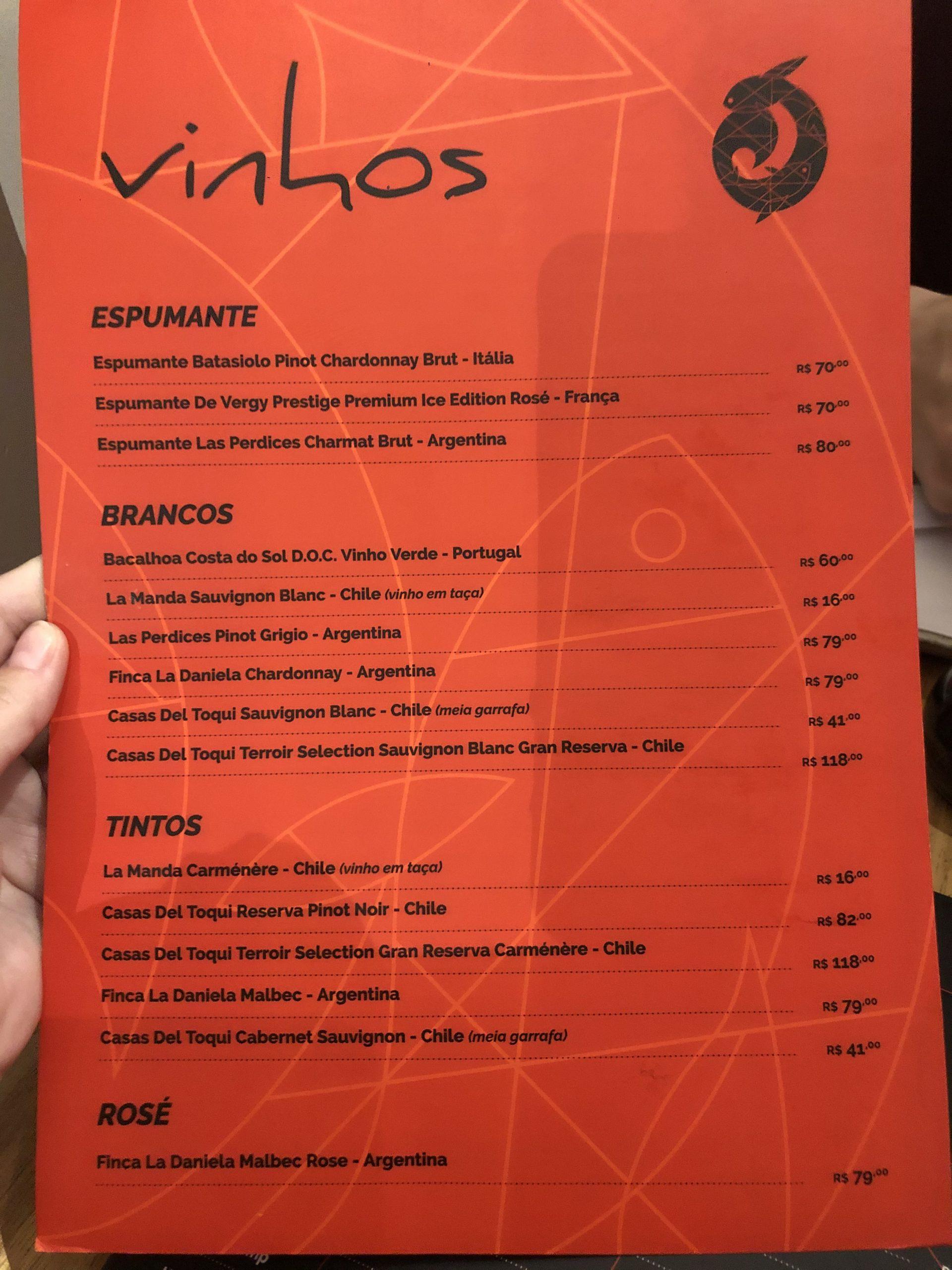 sushi trip vinhos