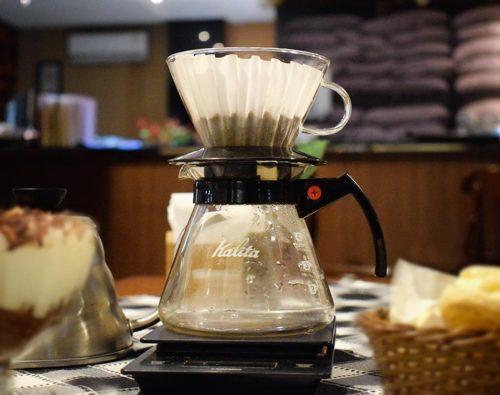métodos de preparo de café - KALITA