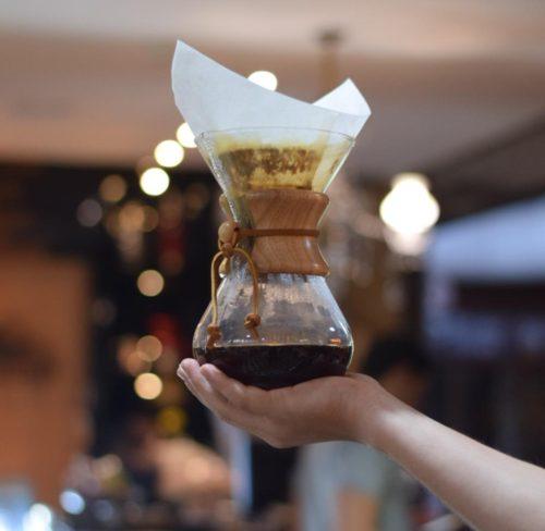 métodos de preparo de café - chemex