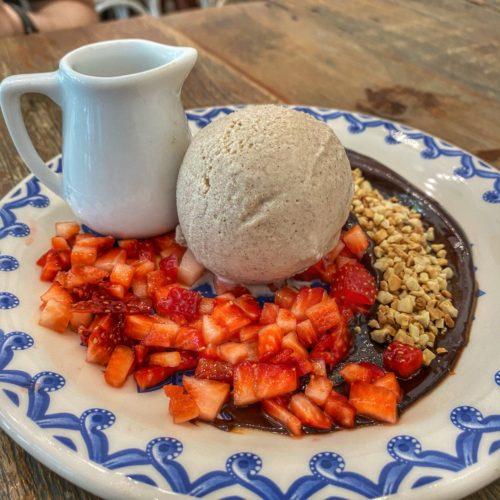 tartar de morango - sobremesa casa graviola