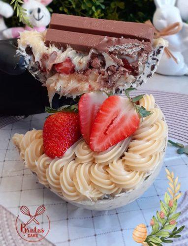 brutus cake - ovos de páscoa